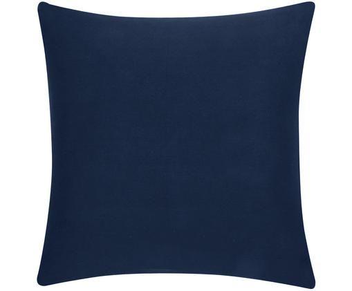 Funda de cojín Mads, 100%algodón, Azul marino, An 40 x L 40 cm