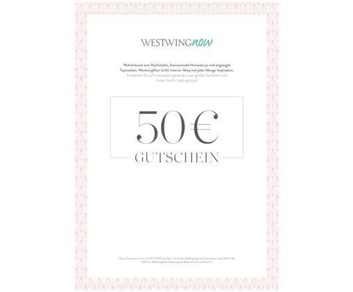 Gutschein zum Ausdrucken, Digitaler Gutschein, nach Zahlungseingang erhalten Sie eine E-Mail mit dem Link zu Ihrem Gutschein. Einfach PDF-Datei abspeichern und ausdrucken., Türkis, 50