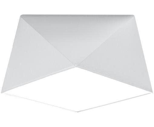 Deckenleuchte Clarity, Kunststoff (PVC), Weiß, Ø 30 x H 15 cm