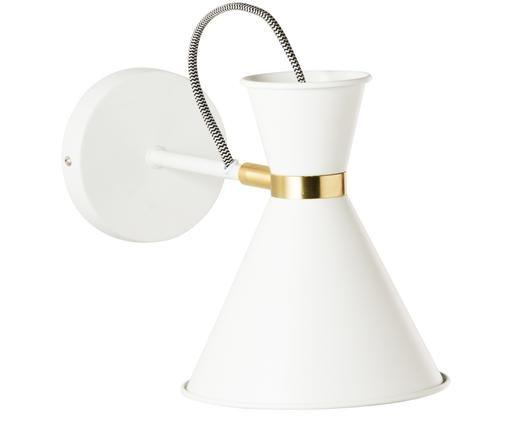 Wandlamp Audrey, Wit