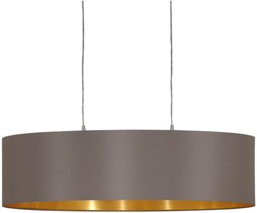 Lámpara de techo Jamie, Plateado, gris beige