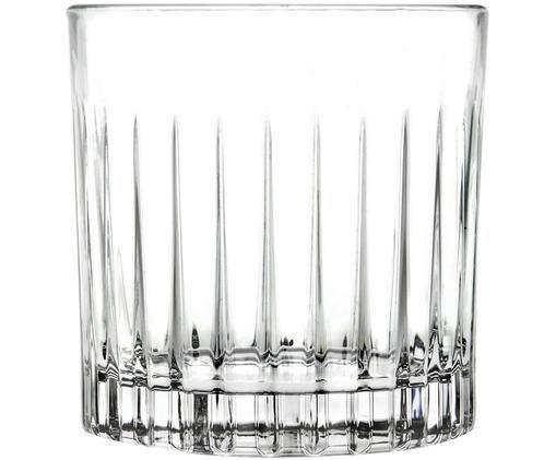 Verres à whisky en cristal à rainuresTimeless, 6pièces