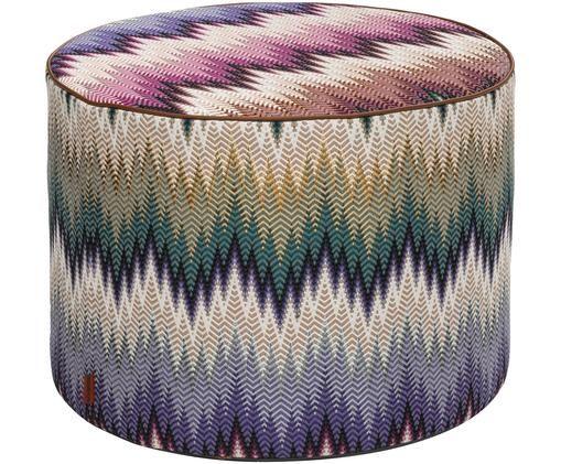 Pouf design Phrae, Multicolore