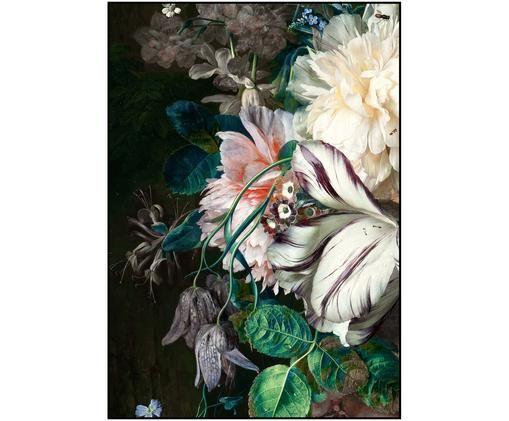 Oprawiony druk cyfrowy Bouquet, Wielobarwny