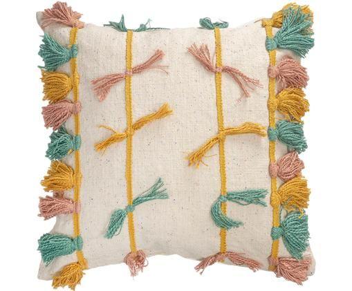 Federa arredo Rumba, Cotone, Multicolore, Larg. 45 x Lung. 45 cm