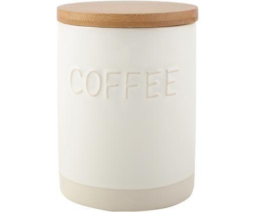 Pojemnik do przechowywania Coffee, Biały, beżowy