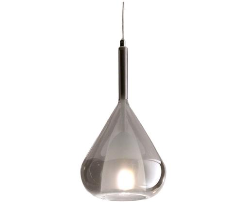 Suspension en verre Lila, Gris