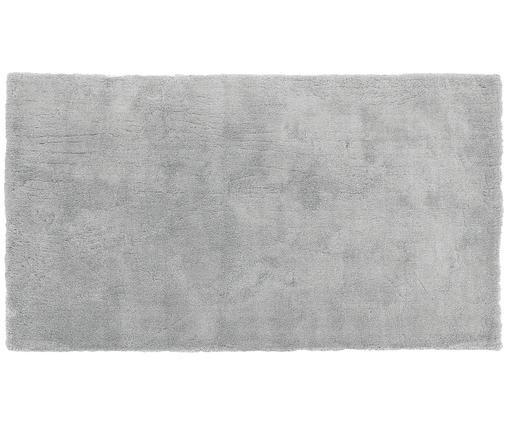 Tappeto peloso morbido grigio scuro Leighton, Retro: 100% poliestere, Grigio, Larg. 80 x Lung. 150 cm (taglia XS)