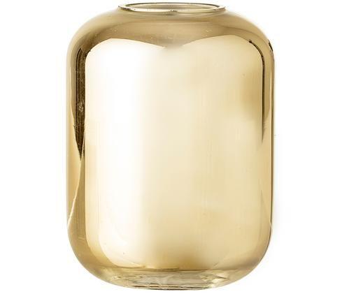 XS Vase Karla, Glas, lackiert, Goldfarben, Ø 8 x H 10 cm