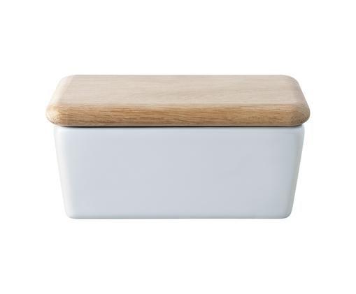 Maselniczka Dine, Biały, drewno dębowe