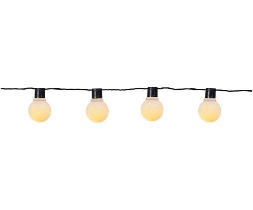 LED lichtslinger Partaj, Lamp: kunststof (PS), Zwart, wit, L 450 cm