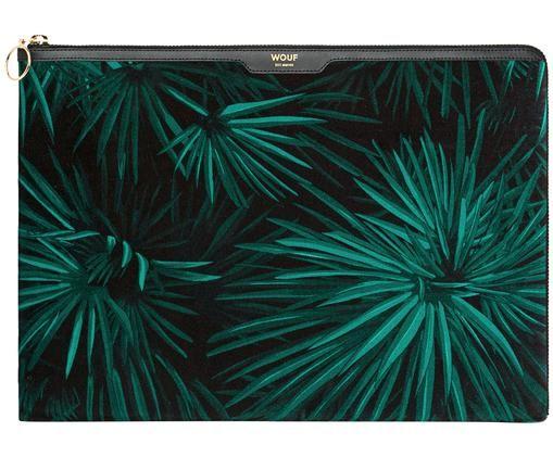 Laptophoes Amazon Velvet voor MacBook Pro/Air 13 Inch, Zwart