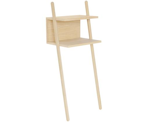 Konsola ścienna z drewna dębowego Isi, Drewno dębowe, lite, naturalne, Drewno dębowe, S 43 x G 30 cm