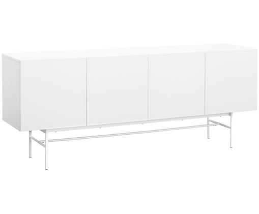 Enfilade moderne Anders, Corps: blanc Pieds: blanc, mat