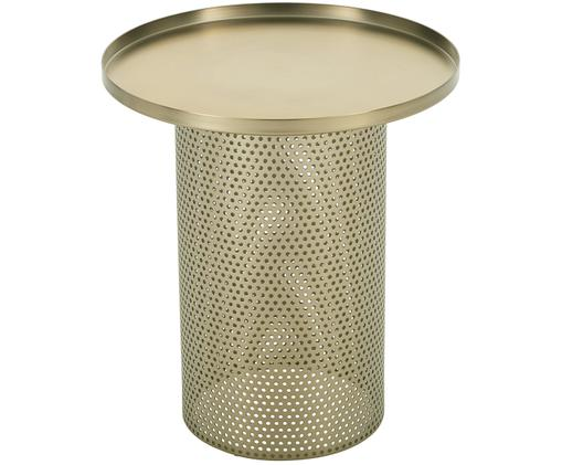 Metall-Beistelltisch Victor, Gold, Ø 42 x H 47 cm