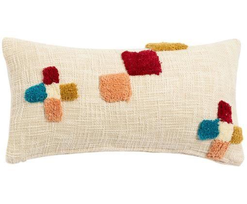 Kussenhoes Durango, Katoen, Beige, multicolour, 30 x 60 cm