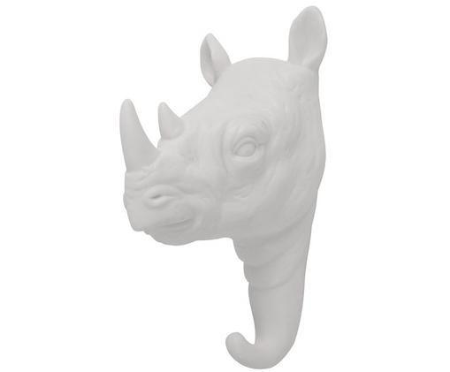 Gancio da parete Rhino, Bianco