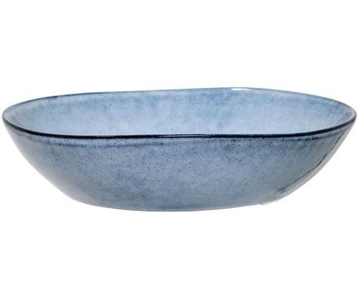 Handgefertigte Servierschale Sandrine, Blau