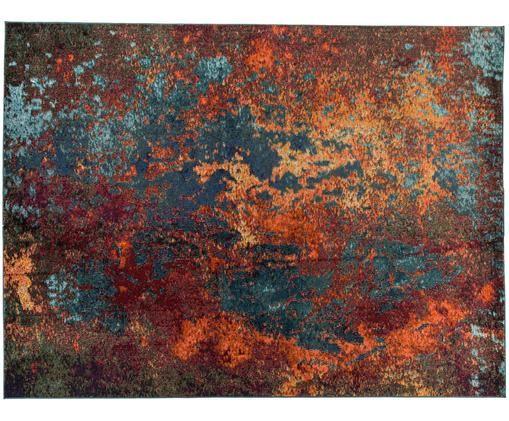 Dywan Celestial, Odcienie czerwonego, odcienie niebieskiego, zielony, S 240 x D 320 cm