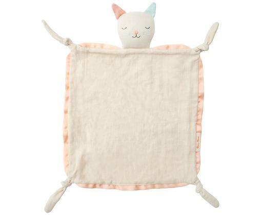 Doudou en coton bio Cat