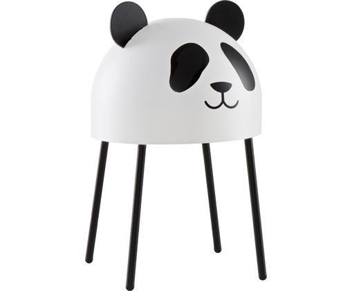 Lámpara de mesa Panda, Negro, blanco
