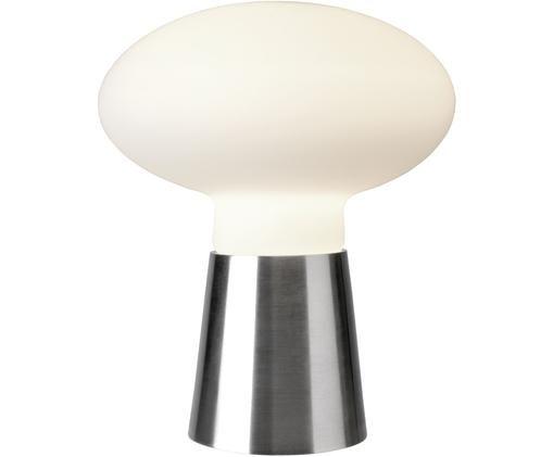 Tafellamp Bilbao, Metaal, wit