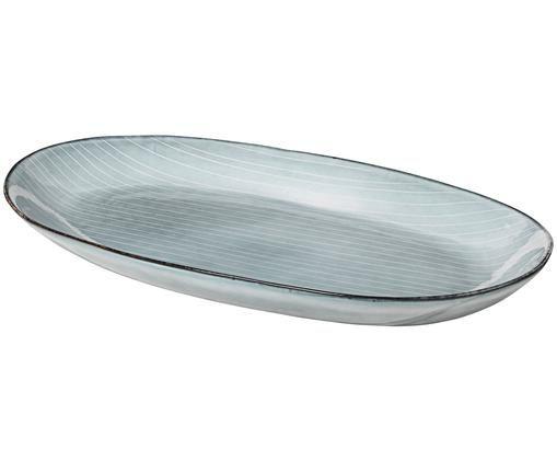 Fuente artesanal Nordic Sea, Tonos de gris y azul