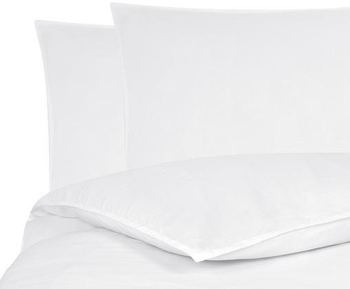 Gewaschene Leinen-Bettwäsche Carla, 52% Leinen, 48% Baumwolle Mit Stonewash-Effekt, Weiß, 200 x 200 cm