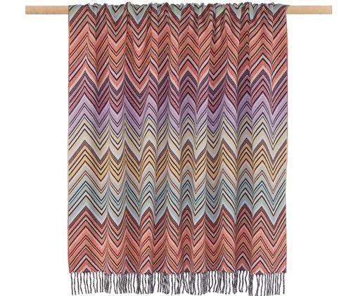 Plaid en laine et cachemire design Perseo