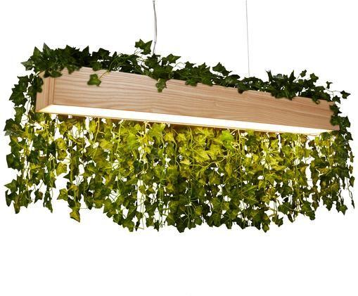 Lampa wisząca Ash, Drewno naturalne, S 115 x W 12 cm
