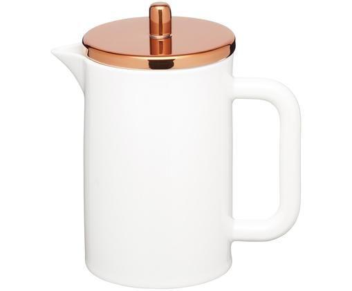 Zaparzacz do kawy Molly, Biały, odcienie miedzi