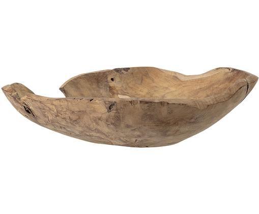 Deko-Schale Aria, Teakholz, Teakholz, Ø 50 cm