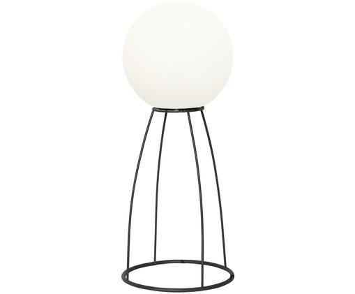 Zewnętrzna lampa LED Gardenlight, Tworzywo sztuczne, metal, Biały, czarny, Ø 29 x W 70 cm