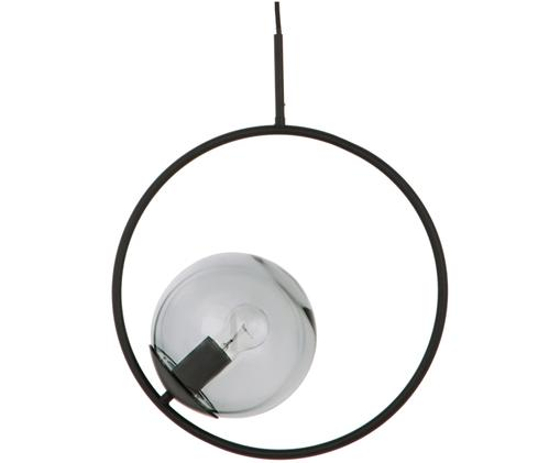 Suspension en laiton Chloe, Gris, noir