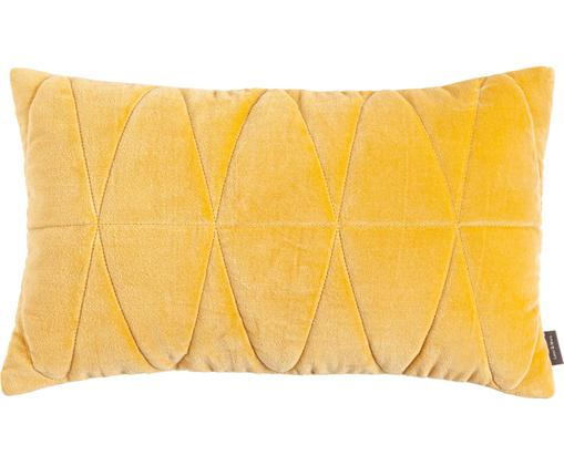 Cuscino in giallo con imbottitura Long Triangles