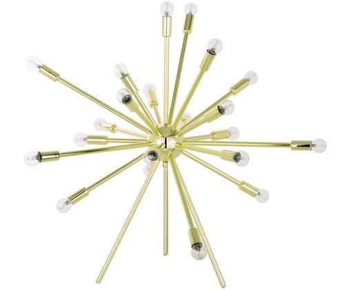 Lampa podłogowa XL Spike, Odcienie złotego