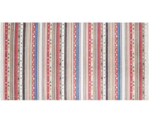 Teppich Senon, Flor: 50%Polyester, 50%Baumwo, Mehrfarbig, B 80 x L 150 cm (Größe XS)