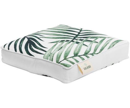 Poduszka na siedzisko Coast, Zielony, biały, S 40 x D 40 cm