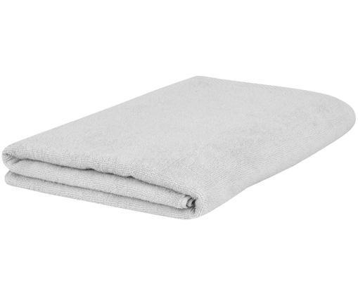 Asciugamano in tinta unita Comfort, Grigio chiaro, Asciugamano per ospiti