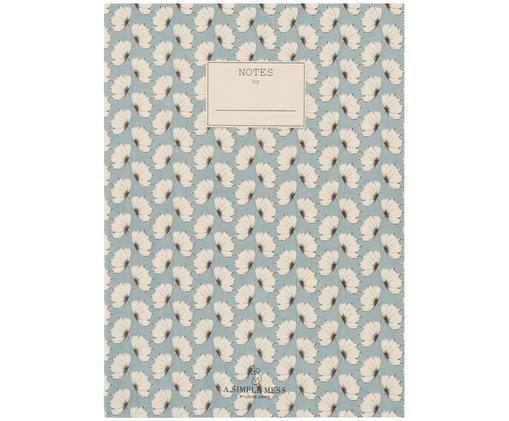 Notizbuch Tren, Recyclingpapier, Blau, 18 x 25 cm