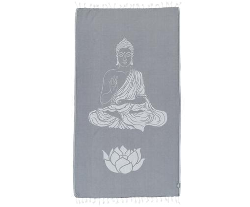 Fouta gris Buddha