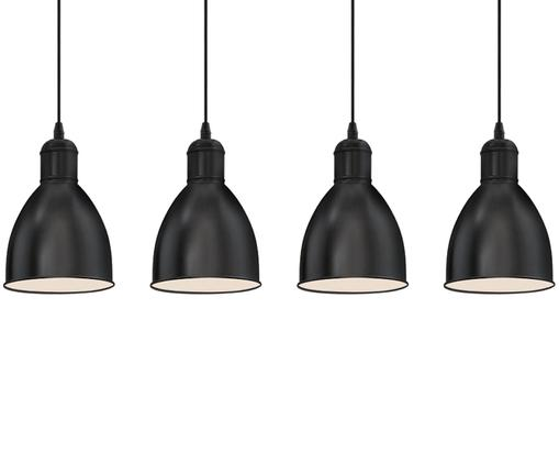 Suspension style scandinave Priddy, Noir
