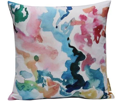 Bunte Kissenhülle Zuza, Polyester, Mehrfarbig, 40 x 40 cm