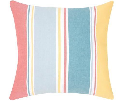 Poszewka na poduszkę Linea, Bawełna, Wielobarwny, S 50 x D 50 cm