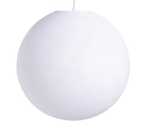 Lampada a sospensione Colorain, Bianco, Ø 41 x Alt. 135 cm