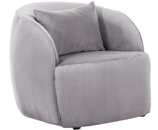 Fotel z aksamitu Elodie, Odcienie liliowego