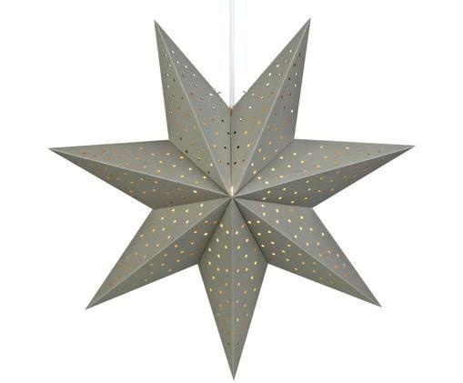 Estrella de Navidad Morris, Gris