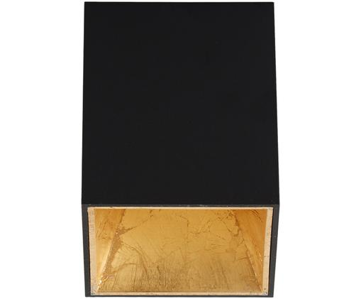 Deckenleuchte Marty, Schwarz,Goldfarben, 10 x 12 cm