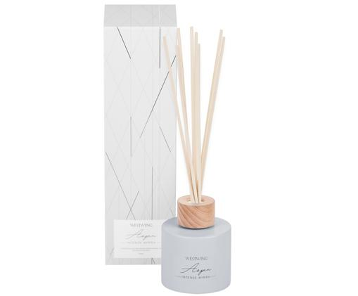 Diffuser Aspen (Myrrhe), Behälter: Glas, Holz, Hellgrau, ∅ 7 x H 9 cm
