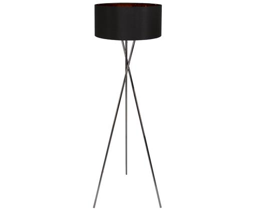 Lampa podłogowa Giovanna, Czarny, miedź, Ø 45 x W 154 cm